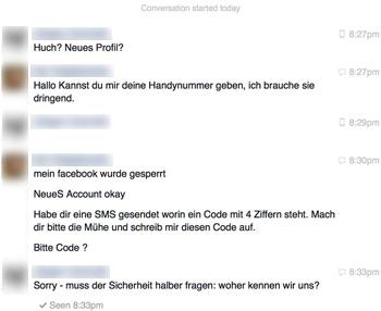 Facebook Betrug Handynummer Was Tun